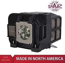 SpArc Lighting for Epson ELPLP74 / V13H010L74 Projector Lamp with Enclosure fits EB-1930 EB-1935 EB-1940W EB-1945W EB-1950 EB-1955 EB-1960 EB-1965 ELP-LP74 ELP-LP75 H473A H474A H491A 1930 1935 1940W
