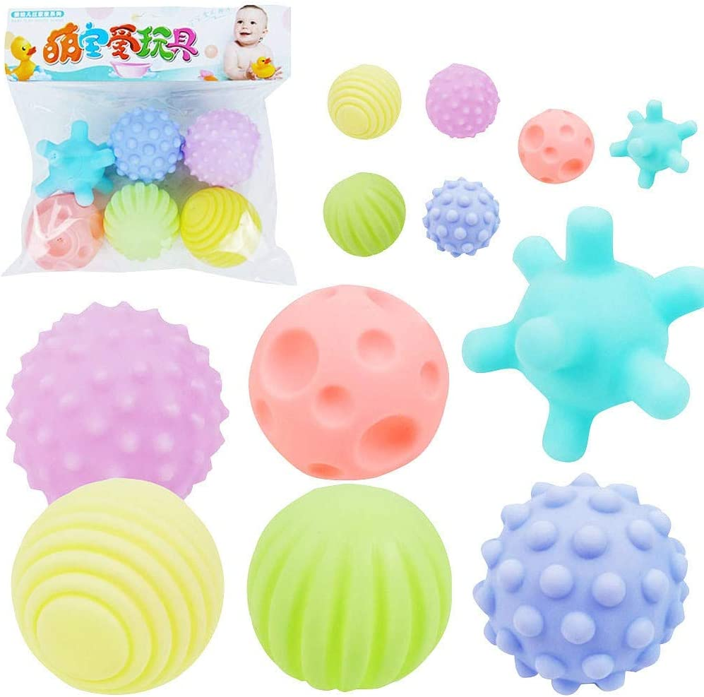 HoneyGod Baby Philadelphia Mall Toy Puzzle Fun and Tactile Multi-Te Function Superlatite Spiky