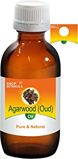 SSCP Botanicals Agarwood (Oud) Pure & Natural Essential Oil (Aquilaria agallocha) (1000 ml (33.80 Oz) Aluminium Bottle)