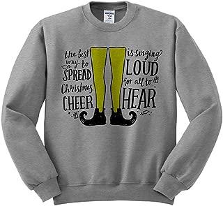 Buddy The Elf Christmas Cheer Sweatshirt Unisex