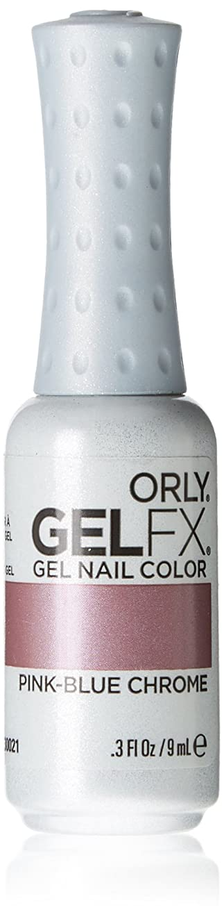 建築家通路放射するOrly GelFX Gel Polish - Pink-Blue Chrome - 0.3oz/9ml