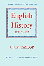 English History, 1914-1945 (Oxford History of England)