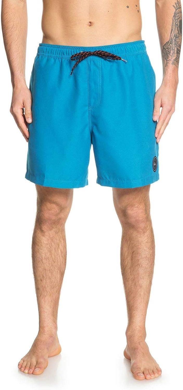 Quiksilver Mens Everyday Volley 15 Inch Elastic Waist Boardshort Swim Trunk