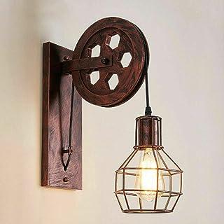 Lámpara de techo colgante vintage industrial E27 de metal