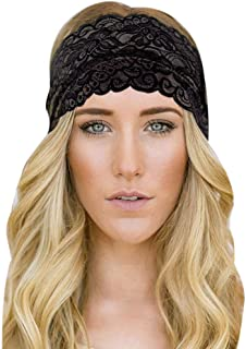 Rmeioel Unisex Ladies Men Sports Yoga Sweatband Gym Stretch Headband Hair Band