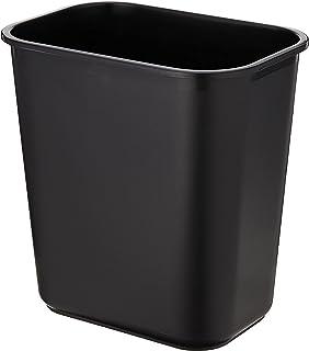 Deli E9562 Waste Bin, Black