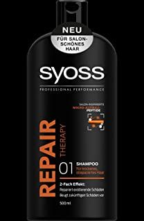 syoss shampoo repair therapy 500ml