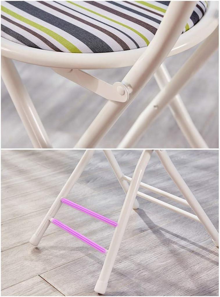CAO-LIFE Assise ronde Petit-déjeuner Cuisine Tabouret de bar Mobilier compact Chaise haute PU cuir artificiel (Color : 01) 01