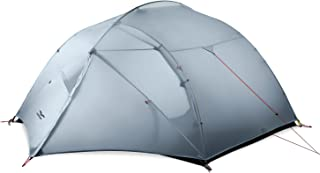 MIER 3 Person Camping Tent Lightweight Outdoor Backpacking Tent with Footprint, Waterproof and Easy Setup (3 Season, 4 Season)