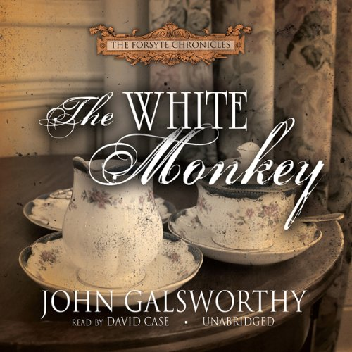 The White Monkey audiobook cover art