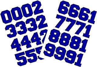Chalkallaboutit Sports Helmet Numbers 1.5