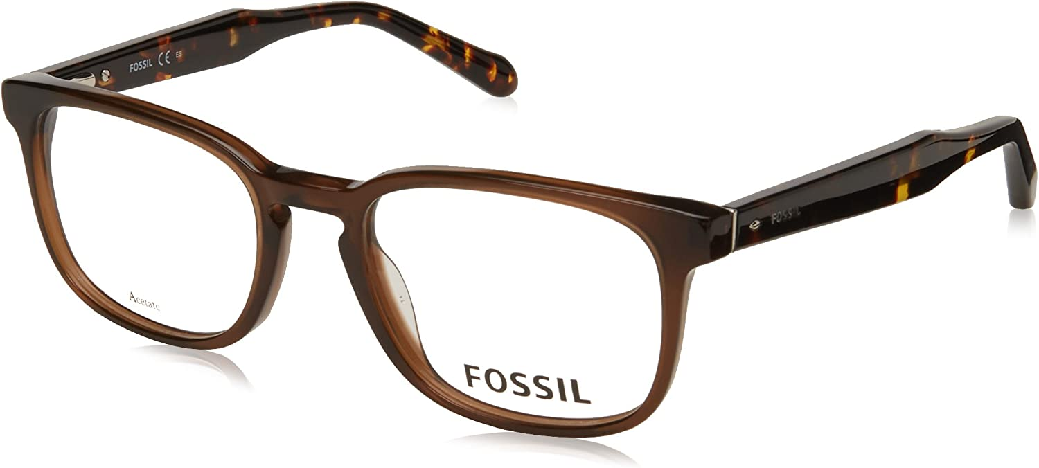 Eyeglasses Fossil 7014 0YL3 Brown 00 Spring new work one after another Sales of SALE items from new works Crystal Lens Demo