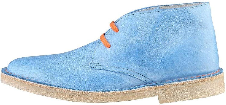 WOZ Garrison_Turchese Damenschuhe Stiefel Stiefel Stiefeletten, blau