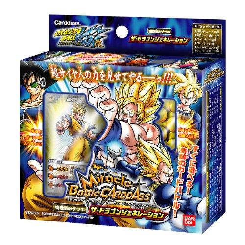 Miracle Battle Carddas Dragon Ball Kai Prebuilt Deck [The Dragon Generation!]