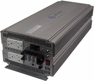 AIMS Power 5000 Watt 12V DC to 120V AC Industrial Pure Sine Power Inverter Industrial