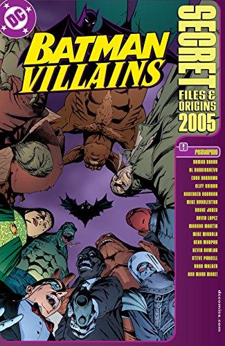 Batman Villains: Secret Files (1998) #1 (DC Secret Files) (English Edition)