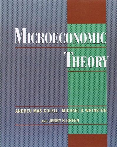Microeconomic Theoryの詳細を見る