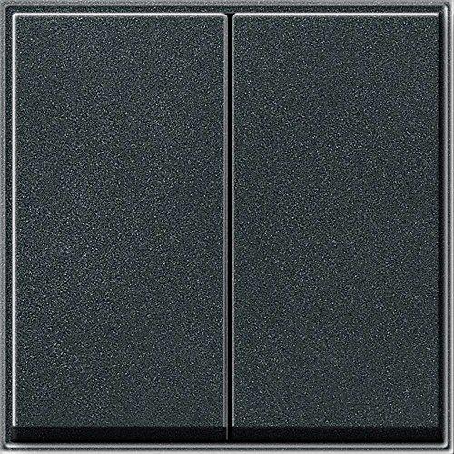 impermeable color antracita Gira 029567 Gira TX/_44 Interruptor doble