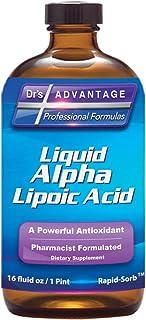 Dr's Advantage - Alpha Lipoic Acid 16oz | 50 Mg per Serving | Gluten Free & Non-GMO