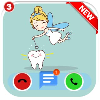 Instant Fake Call From From Tooth Fairy 🧚♀️ - Free Fake Voice Game Calls & Fake Chat Simulator ID PRO - PRANK FOR KIDS