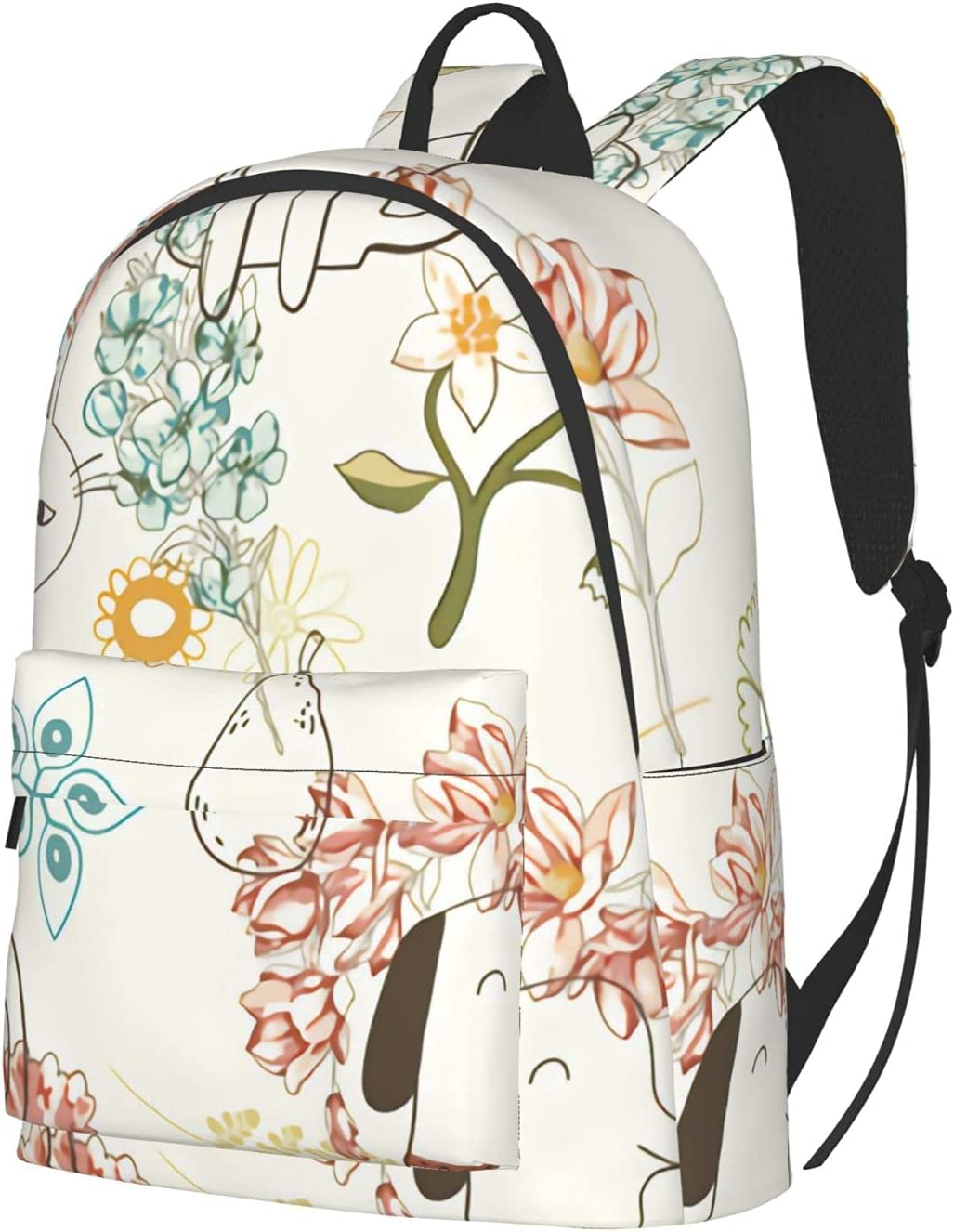 Large scale kitties and Laptop Travel puppies OFFicial Backpack Cheap mail order sales