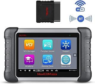 Autel MaxiCOM MK808BT Wireless Bluetooth & Full System Car Diagnostic Scanner with IMMO/EPB/BMS/SAS/DPF/TPMS/Oil Reset, Advanced Version of MK808,Bi-Directional Control, ABS Auto Bleed, Key Fob Coding
