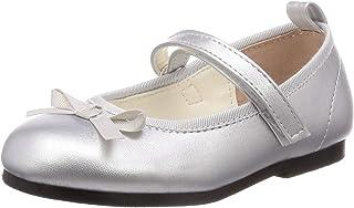 [马赛威斯] 细蝴蝶结绑带 平底鞋 女孩 5428C 共2种图案