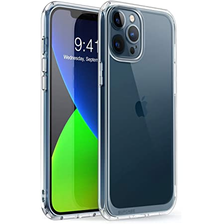 SupCase Unicorn Beetle Style Series Case Designed for iPhone 12 Pro Max (2020 Release) 6.7 Inch, Premium Hybrid Protective Clear Case(Clear)