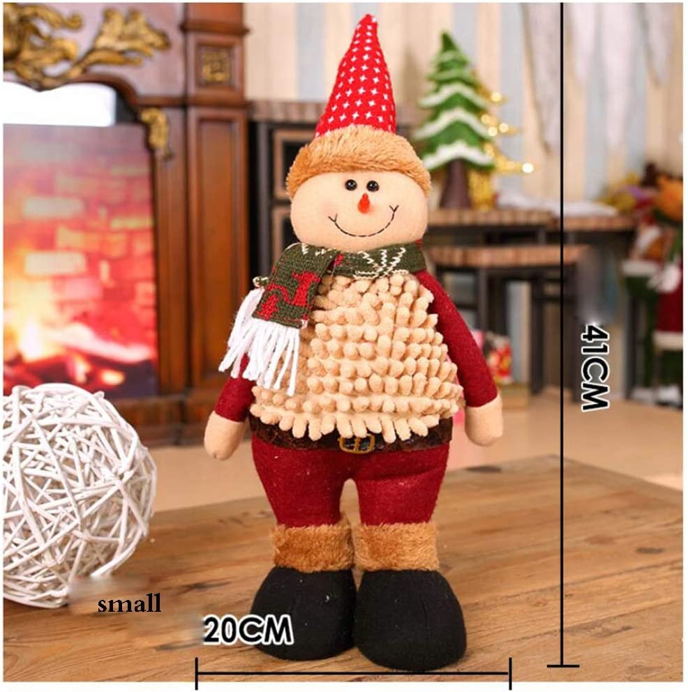 ZYLE Christmas Snowman Doll Warm Max NEW before selling ☆ 60% OFF Bedroom Decoration