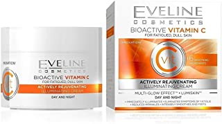 Energizing and illuminating skin 50 ml C Eveline - Bioactive Day and Night Cream with Vitamin