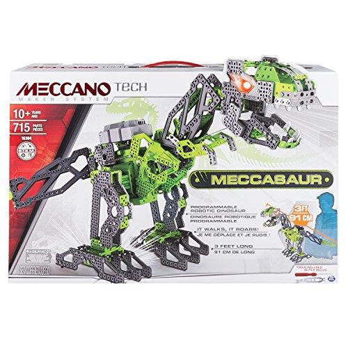 MECCANO- Meccasauro Dinosauro Interattivo, 715 Pezzi, 6028398