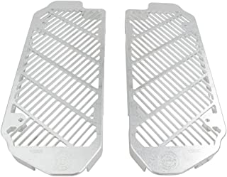 Bullet Proof Designs Radiator Guards Silver - Fits: Yamaha YZ250 2005-2019