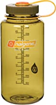 Nalgene 2178-2061 Wide Mouth Water Bottle, 1L, Olive,32 oz,341846