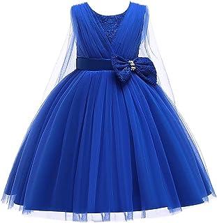 GFDGG 子供のスカートの女の子はメッシュガーゼペチコートの子供服子供服 (色 : 青, サイズ : 120cm)