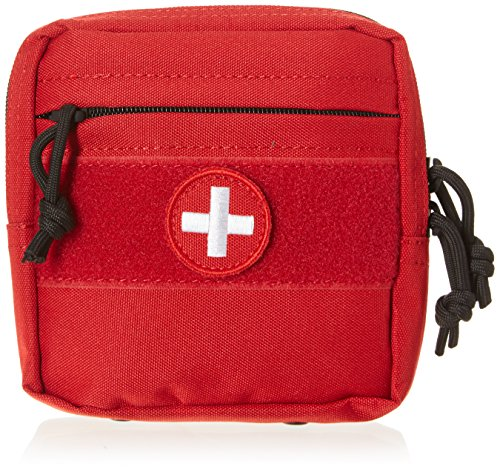 Voodoo Tactique 15–0023016000 Tactical First Aid Pouch, Rouge