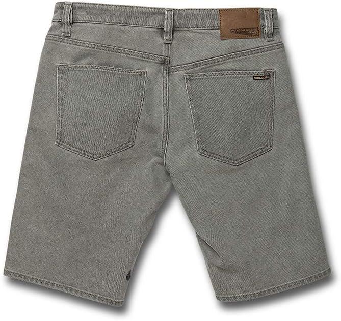 Volcom Solver Denim Short - Short - Homme Gris (Daze Grey)