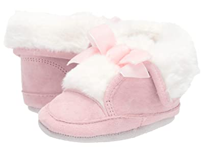 Robeez Willa Cozy Bootie Soft Sole (Infant/Toddler) (Pink) Girl