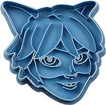 Cuticuter Miraculous Ladybug Catnoir Cookie Cutter, blue