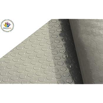 Tappeti di Gomma a Metro per Industria in Vari Modelli e Misure Passatoia Gomma Design a Bolle - NERO, 700x150cm Tappeto Gomma Antiscivolo Pavimenti in Gomma Isolante