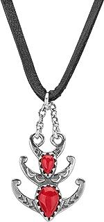 petit point squash blossom necklace