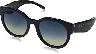 Burberry Round Sunglasses For Women, Blue & Grey - BE4260 36907954