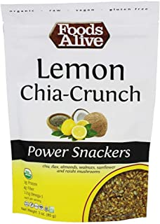 Foods Alive - Power Snackers Lemon Chia-Crunch - 3 oz.