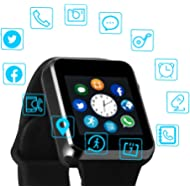 Smart Watch Color Touch Screen Bluetooth Smart Watch Sports Smart Watch TF/SIM Card Slot Smart...