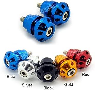 MIT Motors - BLUE - 8mm Universal Swingarm Spools - SUZUKI GSXR 600 750 1000 1300 Hayabusa, TL1000S TLS, TL1000R TLR, Bandit, SV 650