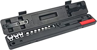 8MILELAKE Ratcheting Serpentine Belt Wrench Tool 16pc Serpentine Belt Remove and Install Kit