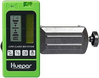 Huepar LR-5RG Laser Detector for Laser Level – Green and Red Beam Receiver for Use..