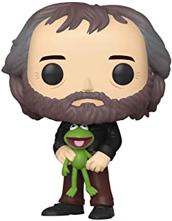 Funko Pop! Iconos: Henson - Jim Henson with Kermit, -, Estándar, Multicolor