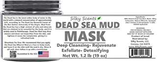 19 OZ (1.2 POUNDS) Dead Sea Mineral Mud Mask - Dead Sea Mineral MUD & Dead Sead Mineral WATER - Cruelty-Free - Suitable for Vegans - 100% Pure & Natural ONLY FULL LAB TESTED!