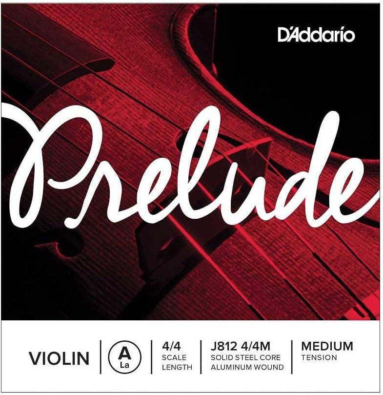 D'Addario Prelude Violin Single A 4 Genuine String Tens Scale Medium Popular brand in the world
