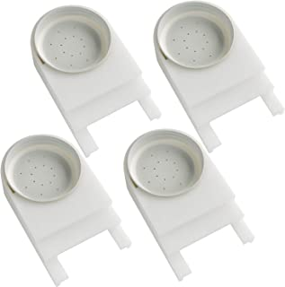 4 Packs Bee Entrance Feeder for Beehives Includes Lids Fits Most Small Mouth Canning Feeder and Waterer